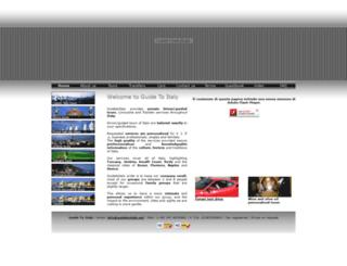 guidetoitaly.net screenshot