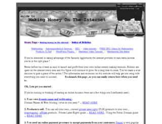 guidetomakingmoneyontheinternet.com screenshot