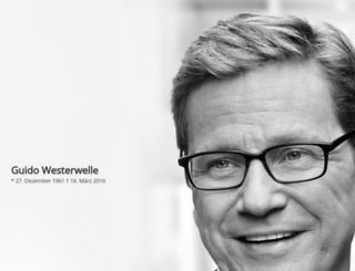 guido-westerwelle.de screenshot