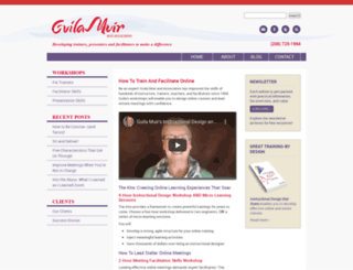 guilamuir.com screenshot