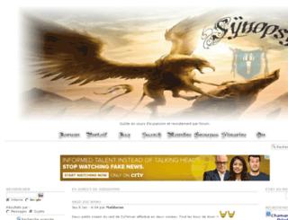 guilde-synopsy.purforum.com screenshot