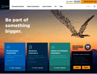 guildinsurance.com.au screenshot