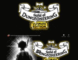 guildofdungeoneering.com screenshot