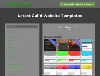guildtemplates.com screenshot