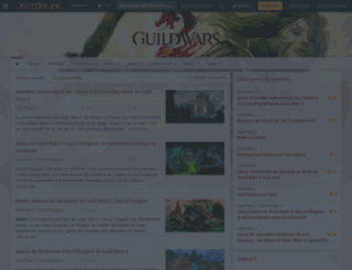 guildwars2.jeuxonline.info screenshot