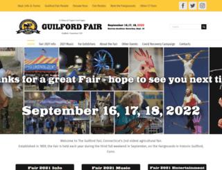 guilfordfair.org screenshot