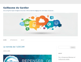 guillaumedugardier.com screenshot