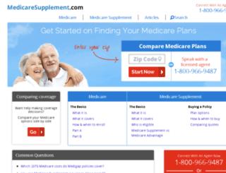 guilledev.medicaresupplement.com screenshot
