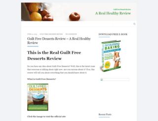 guiltfreedesserts-review.com screenshot