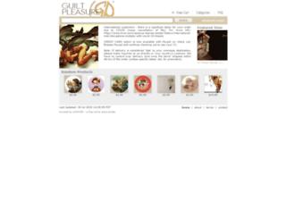 guiltpleasure.ecrater.com screenshot