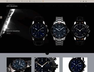 guinand-watch.com screenshot