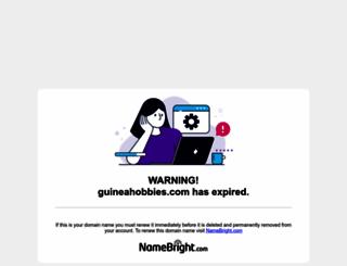 guineahobbies.com screenshot