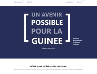 guineemoderne.com screenshot