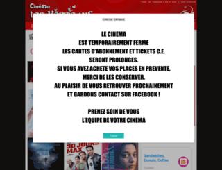 guingamp.les-baladins.com screenshot