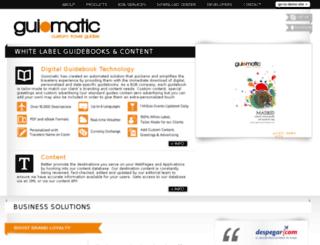 guiomatic.com screenshot