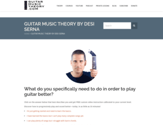 guitar-music-theory.com screenshot