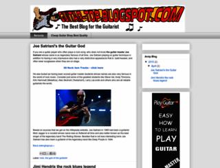 guitar-top.blogspot.com screenshot
