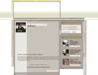 guitar4ever.com screenshot