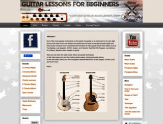 guitar4solo.blogspot.ro screenshot