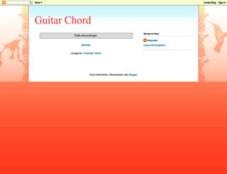 guitarchordcollection.blogspot.com screenshot