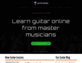 guitarcontrol.com screenshot
