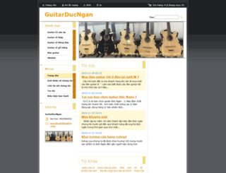 guitarducngan.webnode.vn screenshot