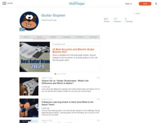 guitargopher.hubpages.com screenshot
