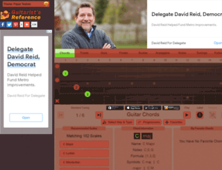 guitaristsreference.com screenshot