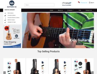 guitarlessonspros.com screenshot