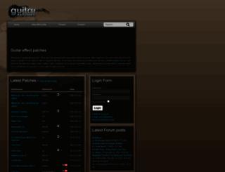 guitarpatches.com screenshot