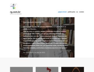 guitarrage.rg.com.br screenshot