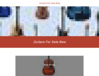 guitars-sale.com screenshot