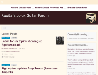 guitars.co.uk screenshot