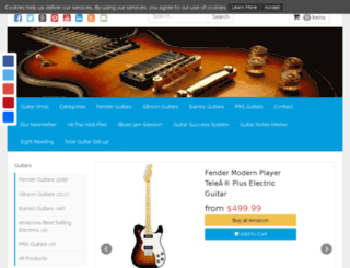 guitarshophere.com screenshot
