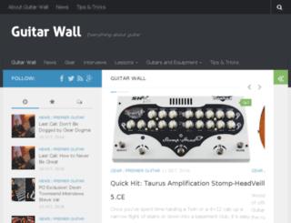 guitarwall.net screenshot