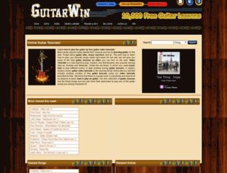 guitarwin.com screenshot