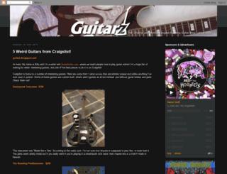 guitarz.blogspot.fr screenshot