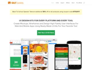 guitoolkits.com screenshot