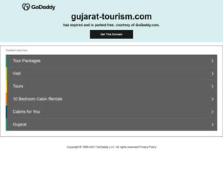 gujarat-tourism.com screenshot