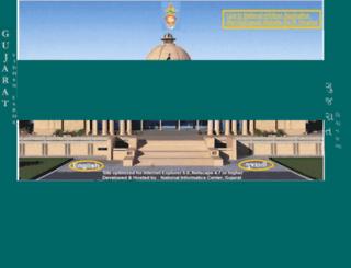 gujaratassembly.gov.in screenshot