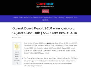 gujaratboard.nicresults.in screenshot