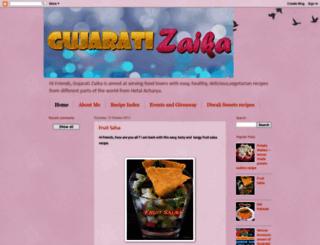 gujaratizaika.blogspot.com screenshot