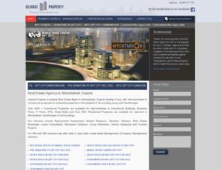 gujaratproperty.com screenshot