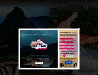 gujarattourism.com screenshot