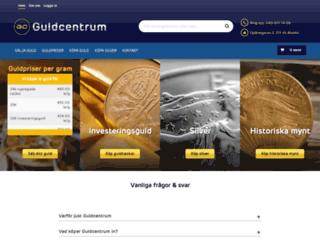 guldcentrum.se screenshot