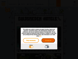 guldsmedenhotels.com screenshot