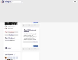 guleryesilyurt.blogcu.com screenshot