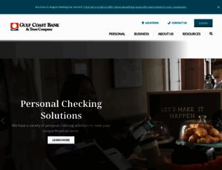 gulfbank.com screenshot