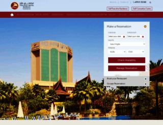 gulfhotelbahrain.com screenshot