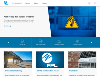 gulfpower.com screenshot